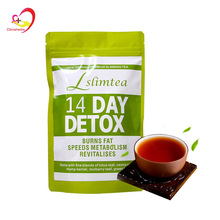 Private Label 14 days Fast Weight Loss Body Shaped Hot Selling Skinny Tetox Flat Tummy Tea wholesale detox slim tea