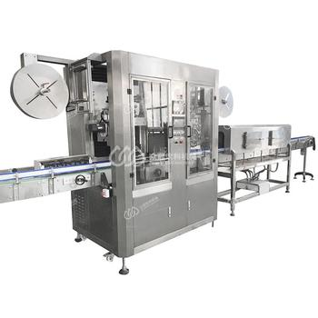SL-400 automatic Shrink sleeve labeling machine for PVC bottles