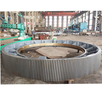 Rotary Kiln Gear/customized And Casting Wheel/ball Mill Girth Gear Ring