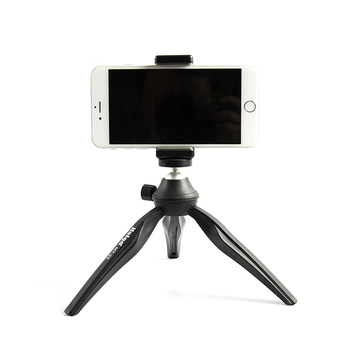 Sunrise Multifunctional Plastic Lightweight 360 Degree Rotation Foldable Tripod Holder for Smartphone Mini Camera