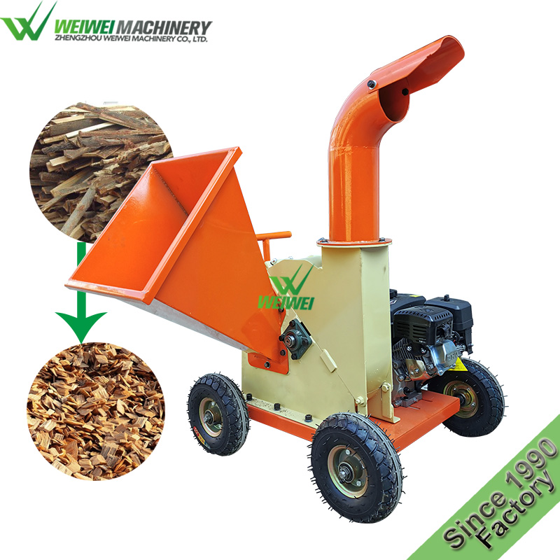 Weiwei wood shredder wood log shredder