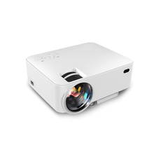 SINIO-20 1500 lumens 800*480 LCD LED mini home theater <strong>projector</strong>