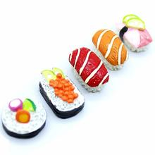 High Quality Resin <strong>fridge</strong> magnet Cake Sushi resin diy crafts flatback With Customized Design