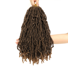 Factory price synthetic crochet dreadlocks faux locs hair extensions braiding faux locs
