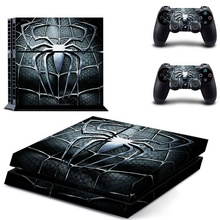 For PS4 <strong>Playstation</strong> 4 Skin Sticker Cover Decals Spider THTB