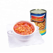 canned baked soy beans in tomato sauce
