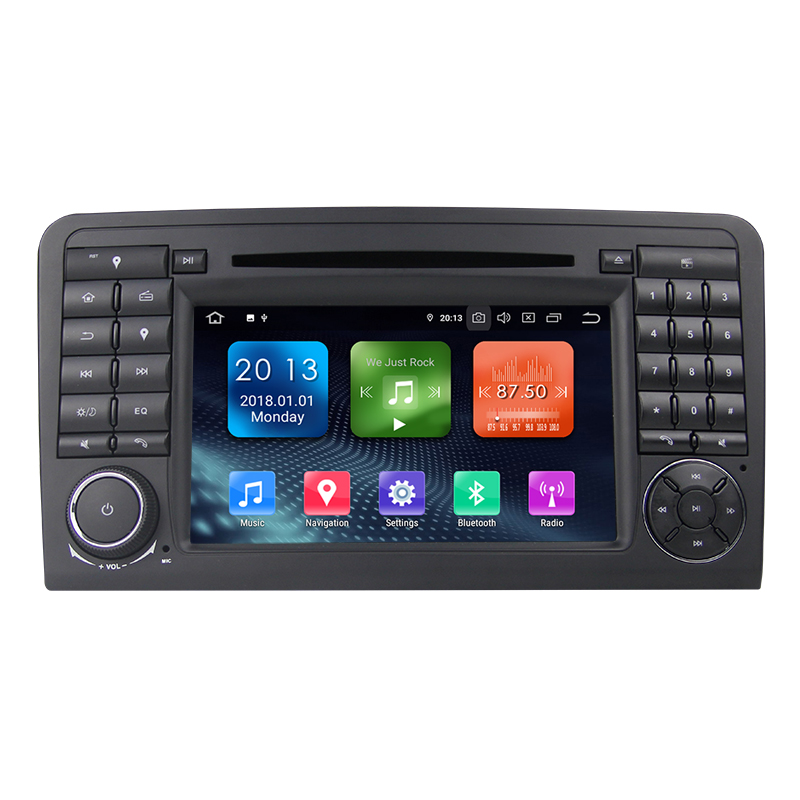 7&quot;2Din Android 10.0 RK PX30 4-Core DAB+ Car CD/DVD Player for <strong>Mercedes</strong> ML/GL Klasse <strong>W164</strong> X164 with WIFI TPMS OBD2 3G BT RADIO RD