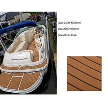 High Quality custom OEM logo foam composite deck boat floor mats for yacht flooring decking sheet