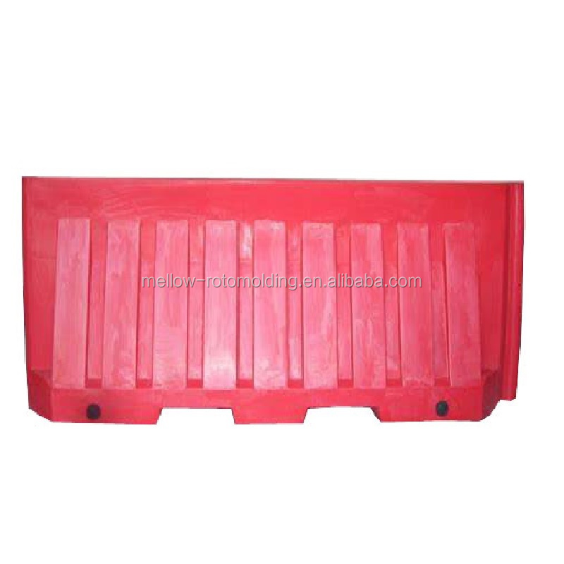 UV resistant PE road safety barrier