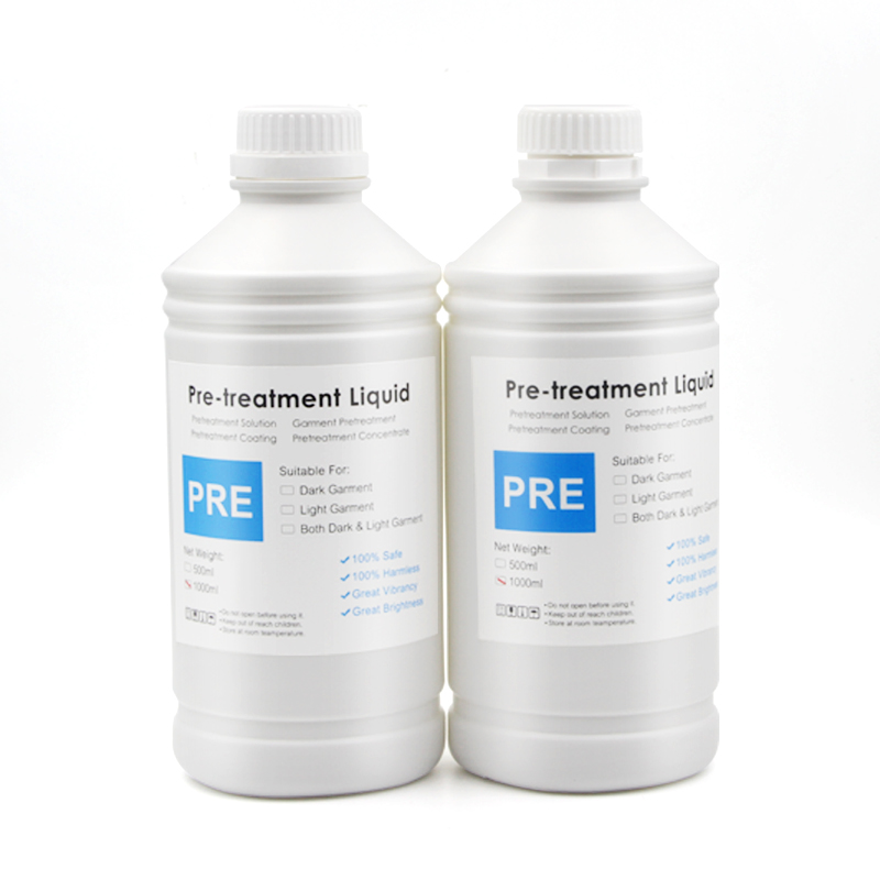 OCBESTJET 1000ML Pre Treatment Coating For Pretreatment Dtg For Digital Printing Before Printing Pretreatment Fluid