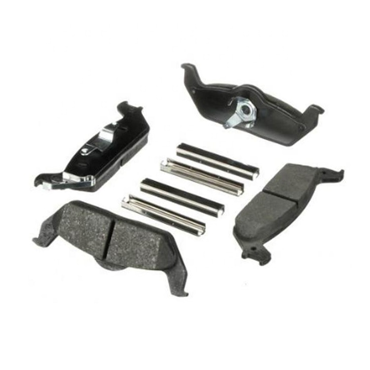 semi-metallic ceramic  D1212-8332 Brake Pads For TOYOTA