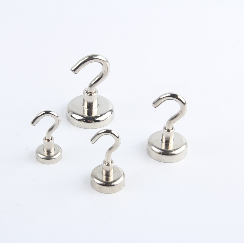 2021 HAOQI  Magnetic Hooks , Neodymium Super Strong Magnetic Hooks