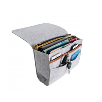 Upgraded Hanging Storage Organizer Bag Holder Felt Bedside Caddy