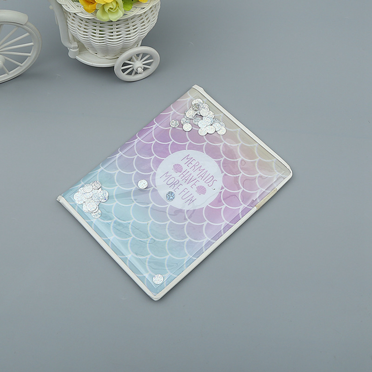 Colored Transparent Clear Pvc Plastic Book Cover For Books Library Book Protection