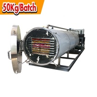 PLC Heat Conductive Oil Food Industry Vacuum Lyophilizer Freeze Dryer