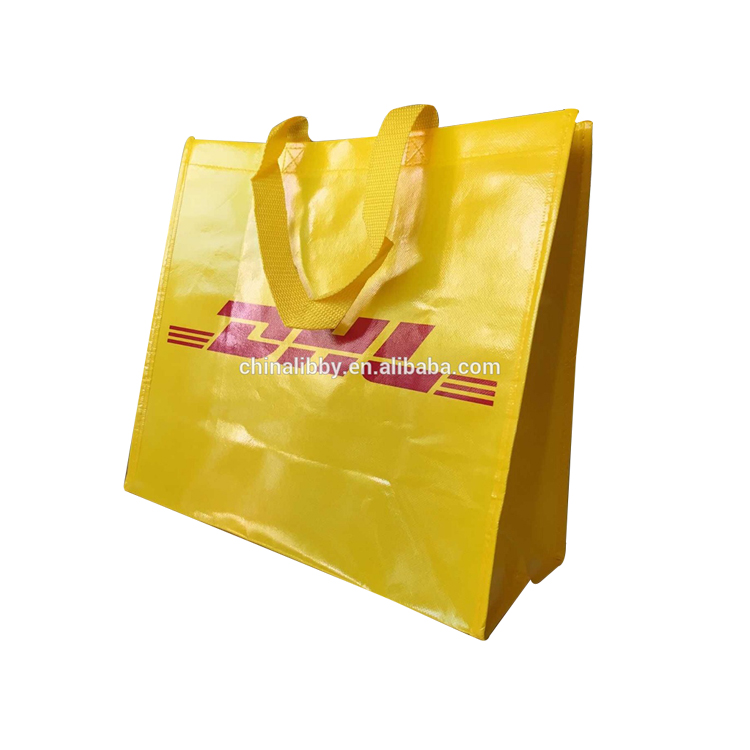 Manufacturer Cheap Price Custom Pp Recyclable Shopping Fold Tote Non Woven Bag