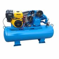 2 stage 13hp pump Gasoline air compressor petrol