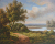 100% Hand Painted Realist Landscape Seascape Oil Painting for Wall Decoration