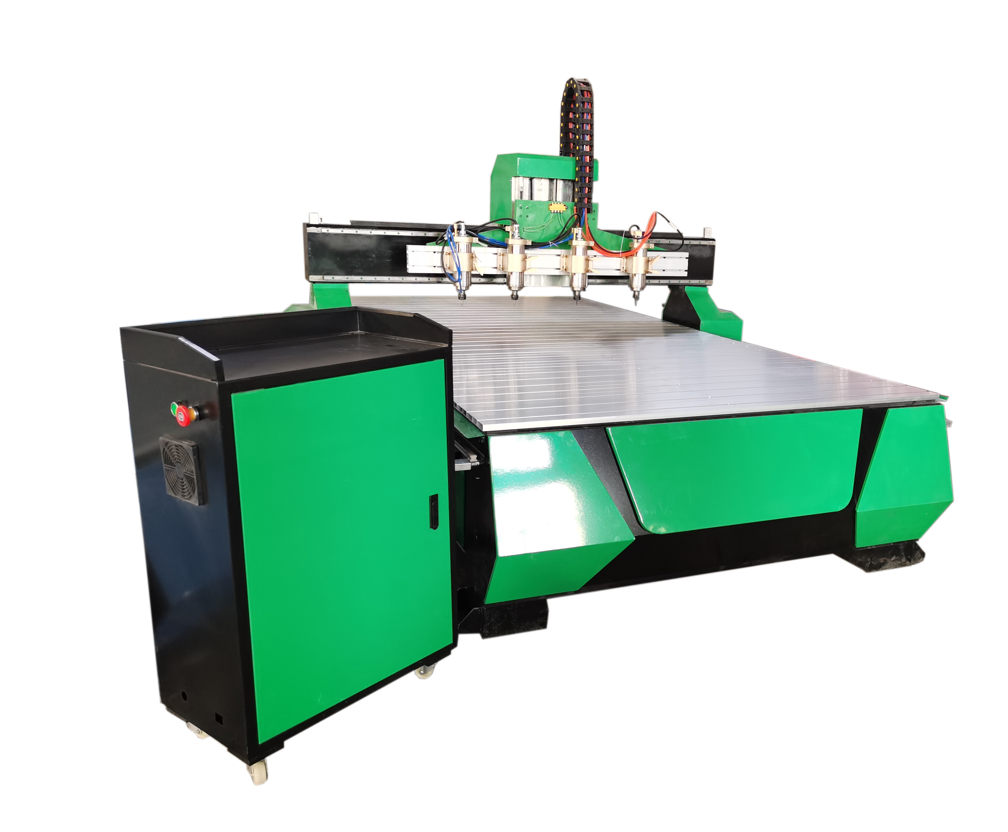 Hot style two spindles CNC router machine 1325 <strong>price</strong> woodworking cnc router machine furniture industry