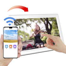 Super Thin Design 10.1 inch WIFI <strong>Android</strong> IOS APP Digital Photo Frame 10