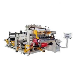 Automatic 1400mm Width Aluminum Strip Winder Transformer Foil Winding Machine