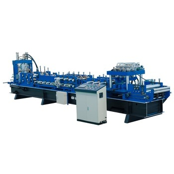 Dahe High efficiency C shaped steel roll former cold forming line making machine CZ channel roll formed machine