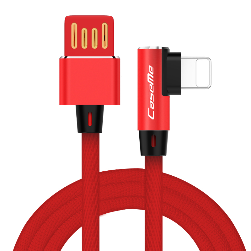 CaseMe Fast Charging Cord L Shape 90 Degree Game Player Micro Cable Charger for Samsung Note <strong>10</strong> for Type <strong>C</strong> Charger Line Cable