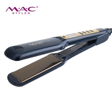 wholesalegood titanium plate flat iron with collection <strong>best</strong> barber electric <strong>hair</strong> <strong>straightener</strong>