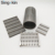 Welded mesh slot size 0.75mm China Suppliers Flat Welded Wedge Wire Screen for filter