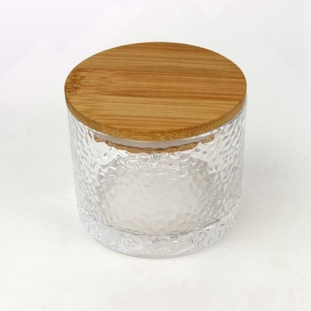 Wholesale Multifunctional Eco - Friendly 200ml Small Food Storage Glass Jar with Wood Airtight Lid