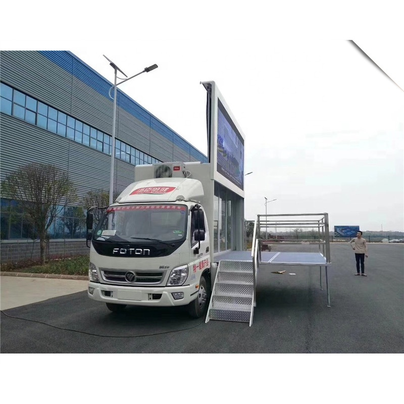Foton Safety 4*2 Digital Led Advertising Truck With Fullcolor Screen <strong>P10</strong> or P6
