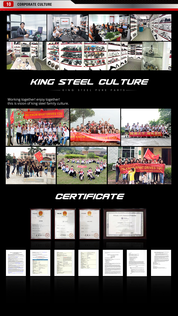KING STEEL drive shaft for suzuki TOYOTA CAMRY 35Q GSV40 2GR ATM 2006- 43420-06650 43410-06650