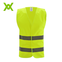 EN471 fluorescent yellow green reflective vest high visibility harness vest