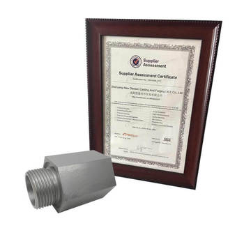Densen Customized casting aluminum pipe fittings,china manufacturer customized precision cnc aluminum pipe fitting