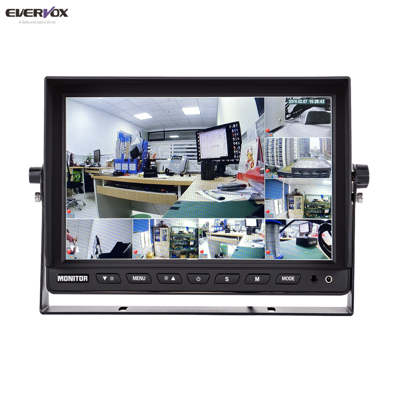 8 <strong>channel</strong> AHD 1080P Truck 10&quot; 1920*1080 car side rear view monitor camera 360 system