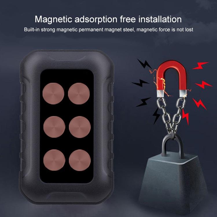 G-68 Mini Magnet Global Intelligent Monitoring System WiFi + GSM + LBS + GPRS GPS Tracker Locator