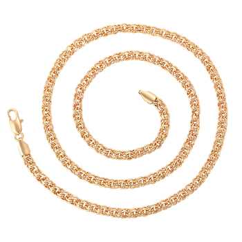 46155 xuping 2019 latest  elegant design18K gold plated  heavy gold chain necklace