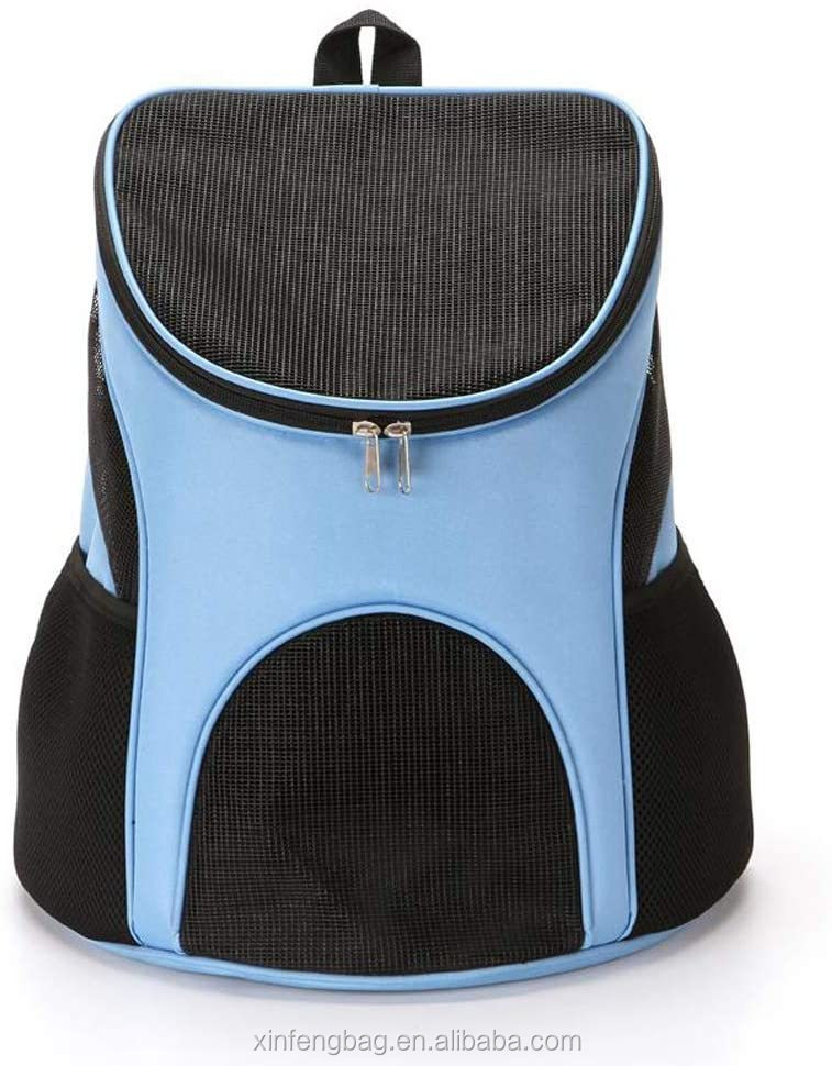 Dog Carrier Backpack Breathable Pet Carrier Bag Mesh Ventilation Cushion Back Support hiking travelling walking camping
