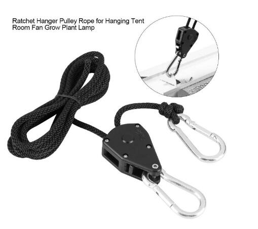 Plant growth lamp plastic wheel PE bag,Adjustable height hanging rope for samsung lm301h lm301b,height hanging rope LM561C/ LM301h/lm301b sun board