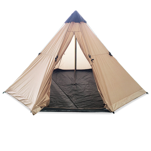 4 6 Person Big Large Wholesale Outdoor Luxury Adult Family Indian Teepee Tipi Camping Tent for Sale
