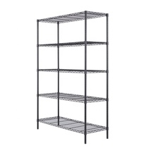 Eco-friendly Feature Carbon Steel Metal Storage Wire Shelving
