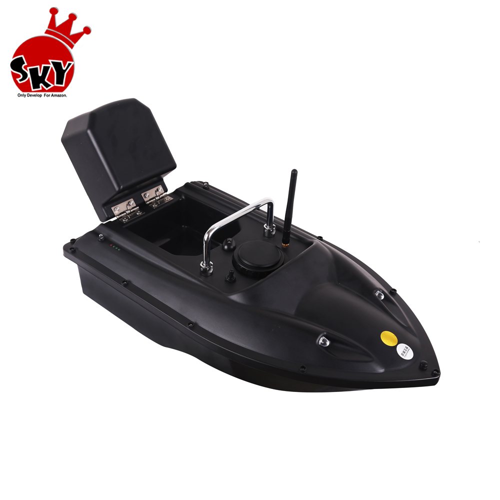Professional D13 RC Fishing Bait Boat 500m Distacne Auto <strong>Remote</strong> <strong>Control</strong> Speedboat Fish Finder Ship Boat Charger 3 hours Cheap