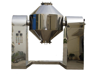 SZG Rotary Vacuum Cadmium Sulfate Double Conical Dryer