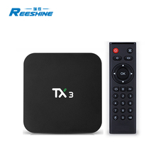 factory supply android 9.0 <strong>system</strong> 4gb 32gb amlogic s905x3 TX3 ott tv box