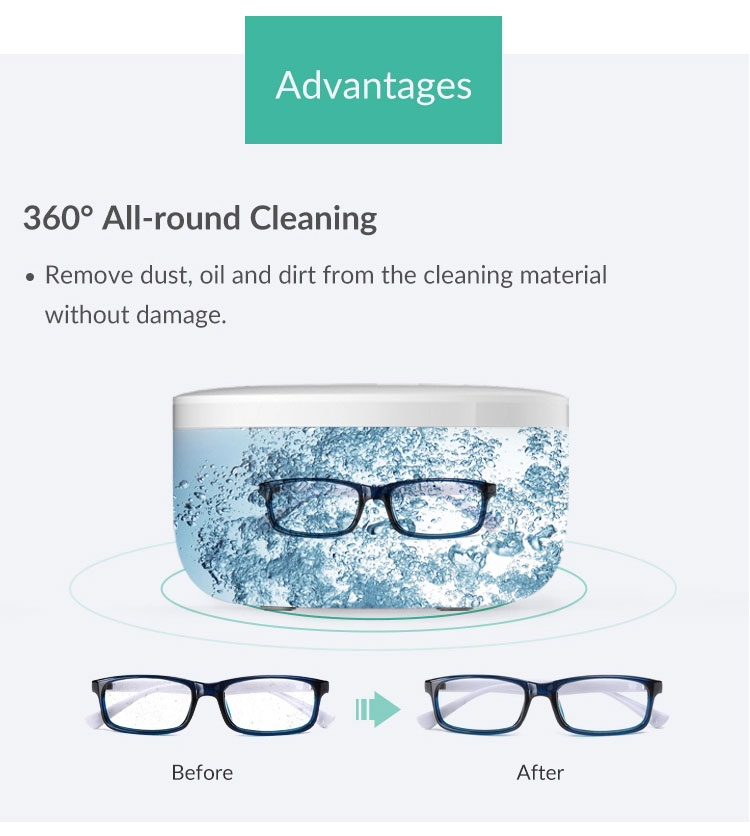 Lightweight High Power vinyl record 4.5l lens Glasses Watches Jewelry Dental Digital Ultrasonic Cleaner Price