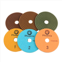 Raizi Phoenix 3 step diamond wet granite polishing pads