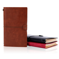 2021-2022 New Vintage Handmade Leather Custom Travel Journal Notebook with Refillable Note Book