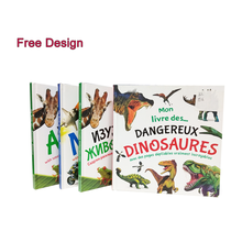 Custom High Quality Usborne Educational for Coloring Pop Up Dinosaur Children <strong>Book</strong>
