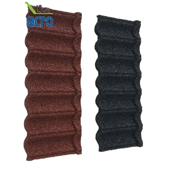 Factory Price Kerala Light weight Stone Coated Roofing Tiles Materials