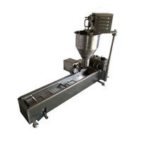 Full Automatic Commercial Fryer Doughnut Making Machine,Donut Ball Machine